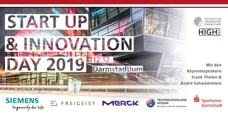 4. Darmstädter Startup & Innovation Day Tickets