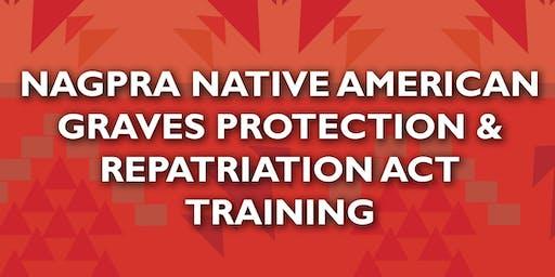 NAGPRA (Native American Graves Protection and Repatriation Act) Nov 15-16