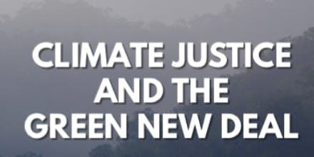 Climate Justice and the Green New Deal