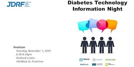 Diabetes Technology Information Night - Penticton tickets