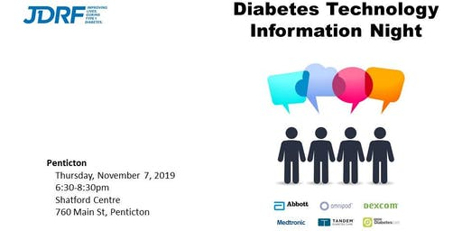 Diabetes Technology Information Night - Penticton