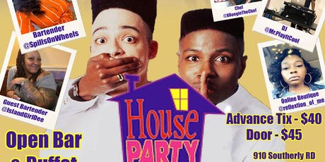 80's houseparty  tickets