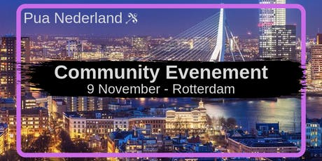 Pua Nederland Event - November tickets