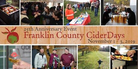 Franklin County Cider Days - New Salem Cider tickets