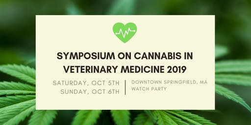 Veterinary Cannabis Symposium: Springfield, MA Watch Party