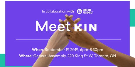 Crypto Currency for UX Designers: Kin Ecosystem @ General Assembly Toronto tickets