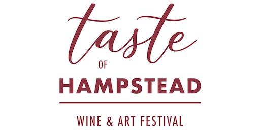 Taste of Hampstead Wine + Art Festival