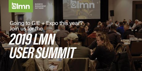 2019 LMN User Summit tickets