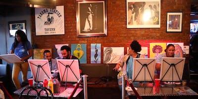 Paint Jam Live R&B soul Paint 'N Sip