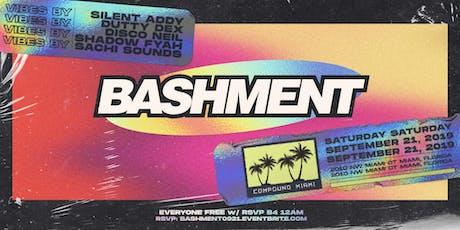 Bashment @ Compound Miami tickets