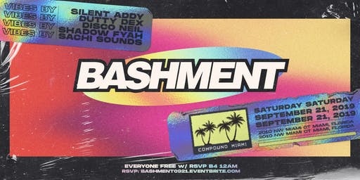Bashment @ Compound Miami