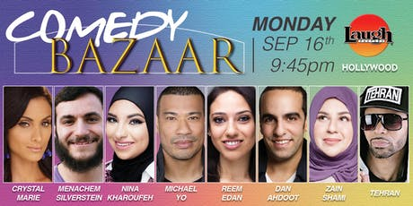 Michael Yo,Dan Ahdoot, and more - Comedy Bazaar! tickets