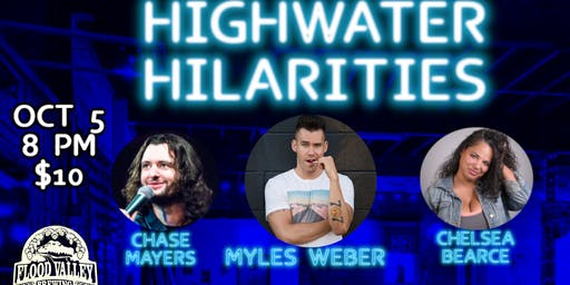 Highwater Hilarities: October Edition with Myles Weber