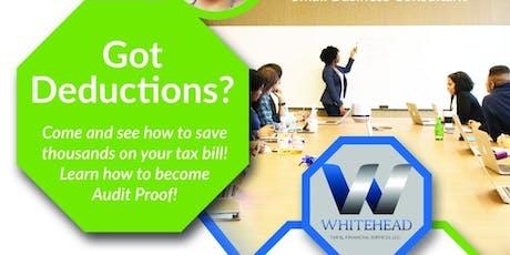 Got Deductions? - Tax Seminar tickets