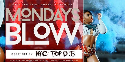 #MondaysBlow at Lavoo Lounge | BOGO Happy Hour Drinks