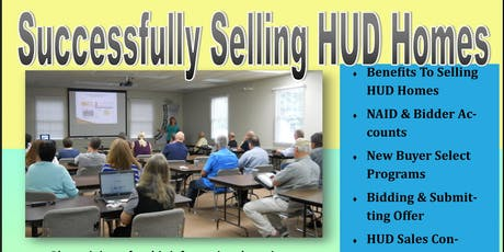 Successfully Selling HUD Homes tickets