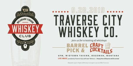 Traverse City Whiskey Co. Whiskey Event tickets