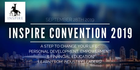 Inspire Convention tickets