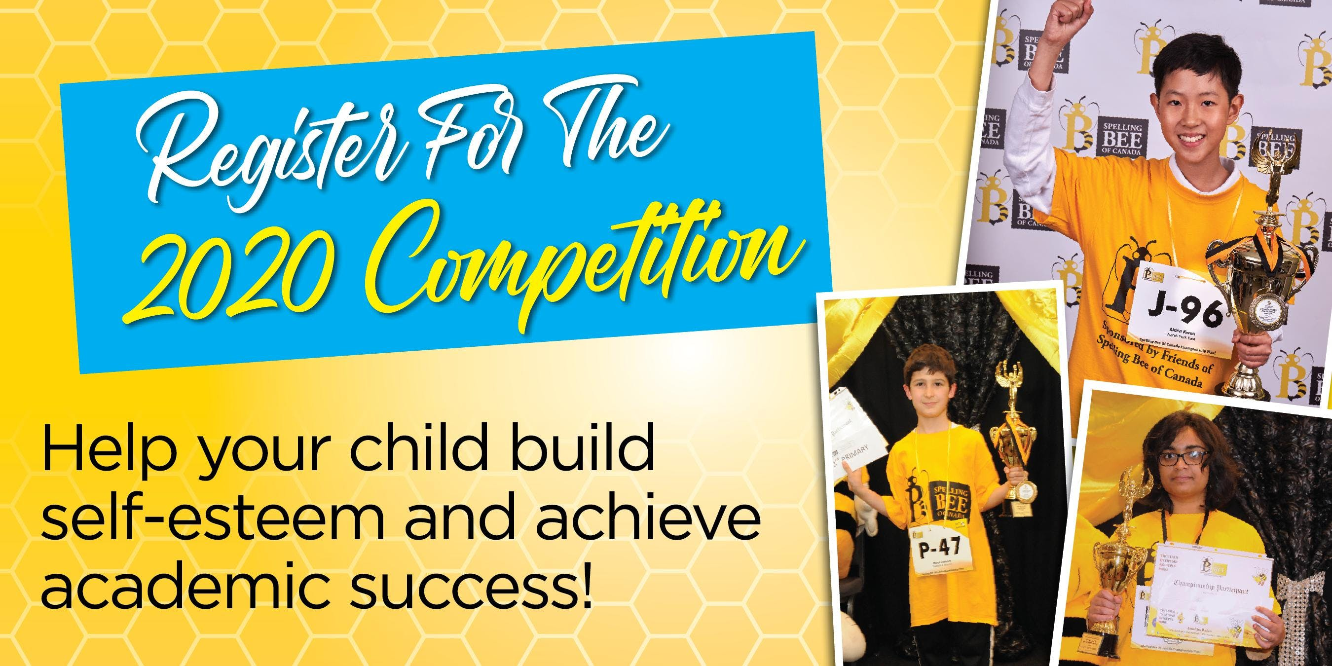 33rd Annual Spelling Bee Registration