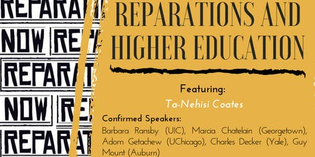 Scholars for Social Justice Presents: Reparations and Higher Education tickets
