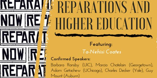 Scholars for Social Justice Presents: Reparations and Higher Education