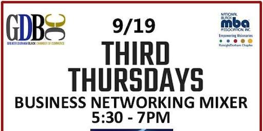 Third Thursdays Business Networking Mixer