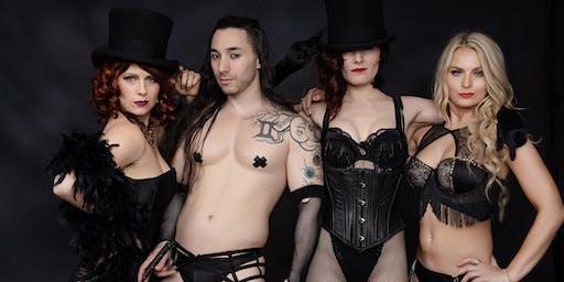 Nevada City Cabaret ~ Monsters & Martinis Burlesque Spooktacular