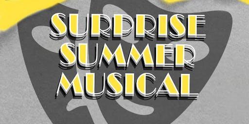 Secret Summer Musical TBA 7/31