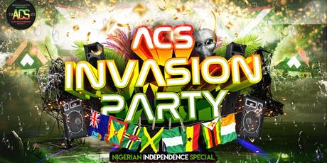 BCU ACS Initiation Party - Nigerian Independence tickets