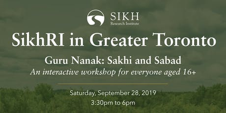 Guru Nanak: Sakhi and Sabad tickets