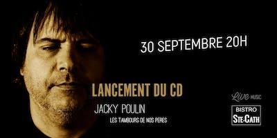 Lancement du CD de Jacky Poulin, chanson francophone