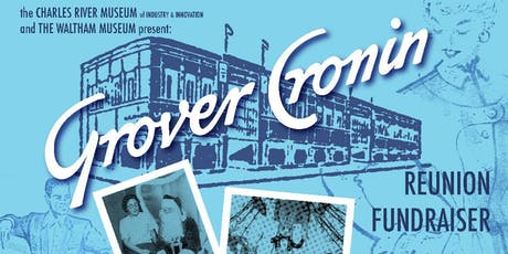 GROVER CRONIN Reunion Fundraiser tickets