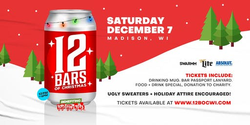 3rd Annual - 12 Bars of Christmas Madison