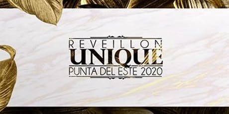 Reveillon Unique 2020 entradas