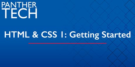 HTML & CSS 1:  Getting Started - Atlanta - Classroom South - Room 403/405 tickets