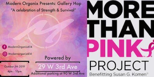 Modern Organix Presents: Gallery Hop October powered by Susan G. Komen