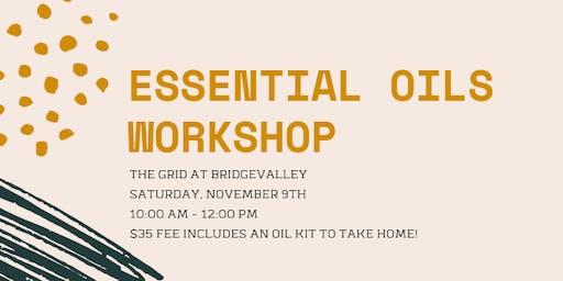 Basics of Essential Oils Workshop
