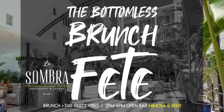 10.13 |The Bottomless  BRUNCH FETE w/ 2 hr OPEN BAR | Hosted by MTA Rocky tickets