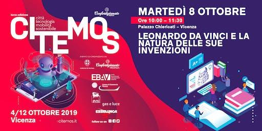 CITEMOS 2019 - Leonardo Da Vinci e la natura delle sue invenzioni