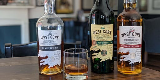 West Cork Irish Whiskey Tasting