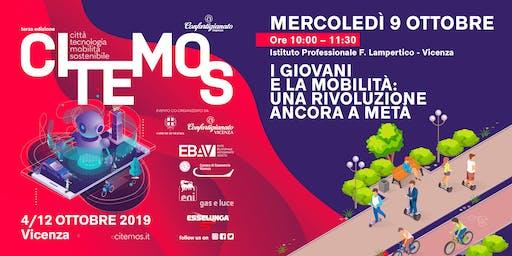 CITEMOS 2019 - I giovani e la mobilità: una rivoluzione ancora a metà - Evento organizzato da Quattroruote Professional