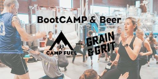 BootCAMP & Beer | Grain & Grit Beer Co. | Camp Fuel