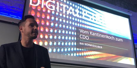 Karriere-Express: Vom Kantinenkoch zum Chief Digital Officer. Meine Story. Tickets