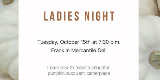 Living Franklin&Imago Dei Ladies Night
