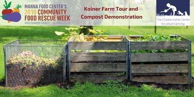 Community Food Rescue Week: Koiner Farm Tour and Compost Demonstration