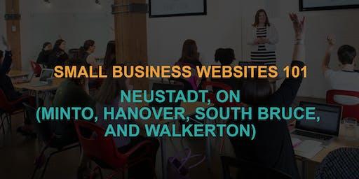 Small Business Websites 101: Neustadt workshop