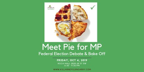 Meet Pie for MP All Candidates Debate tickets