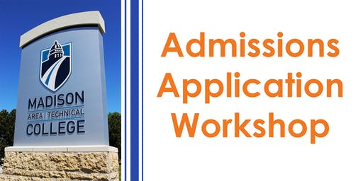 Admissions Application Workshop