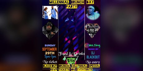 BLACKOUT Brunch: Millennial Special tickets