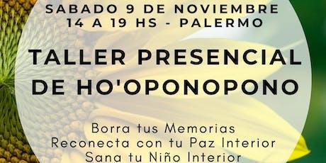 Cómo Practicar Ho'oponopono Para Lograr Paz Interior (Noviembre- Palermo) entradas